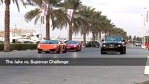 Nissan Juke-R street race demonstration in Dubai 31.01.2012