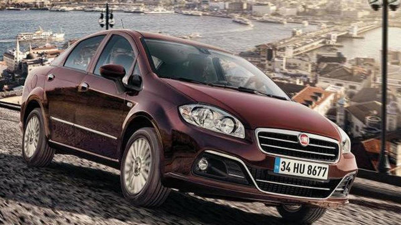 2013 Fiat Linea facelift leaked image