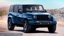 2018 Jeep Wrangler Unlimited rendering