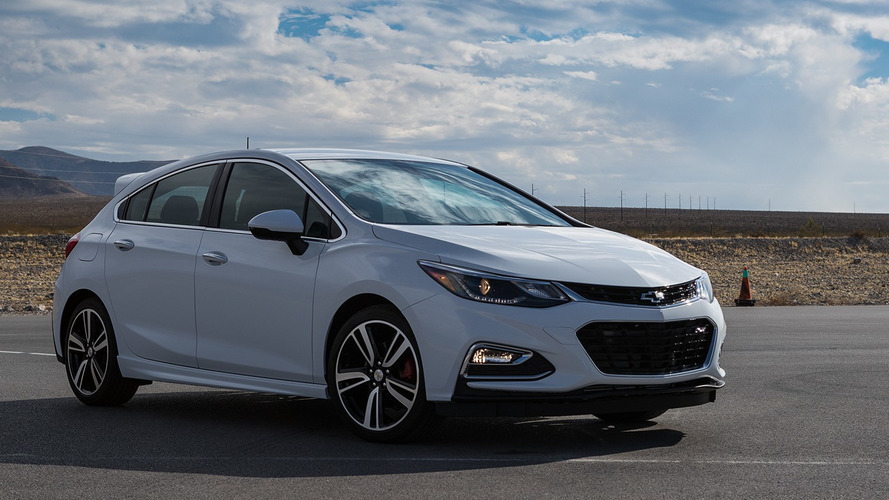 Chevy Cruze Hatchback with Chevy Performance Parts