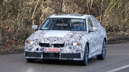 2018 BMW 3 Series poses for the camera with M Sport suit