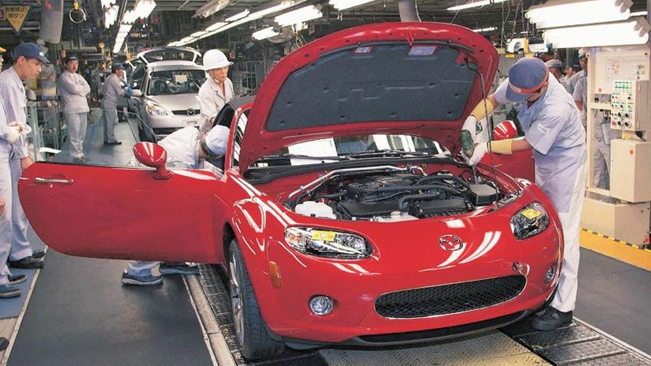 Number 1 unit Mazda MX-5 Miata