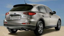 Infiniti EX35 Crossover SUV Revealed