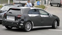 2012 Mercedes A-Class spied showing new details