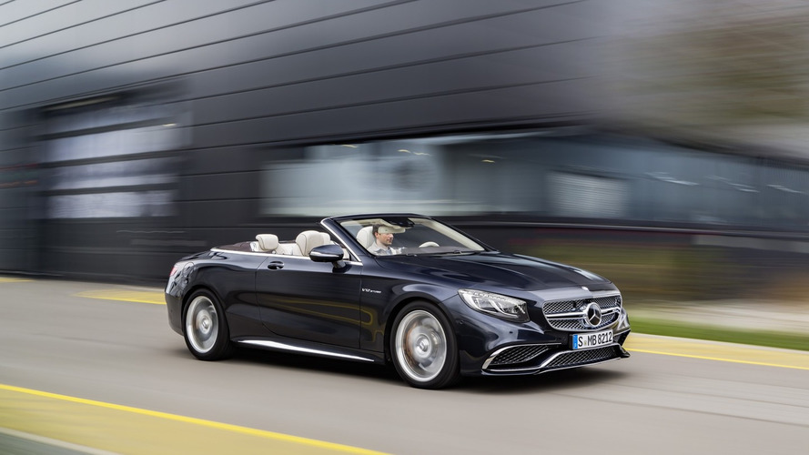 Mercedes-AMG S65 Cabriolet brings mighty V12 power