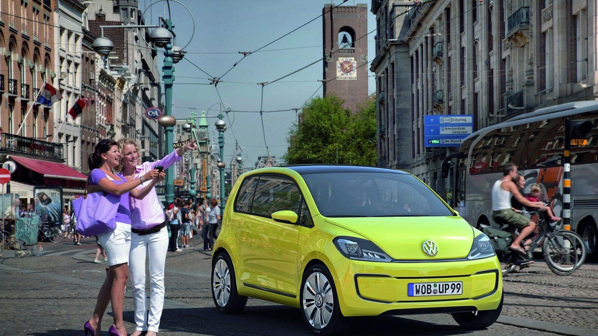 VW E-Up! Concept Revealed