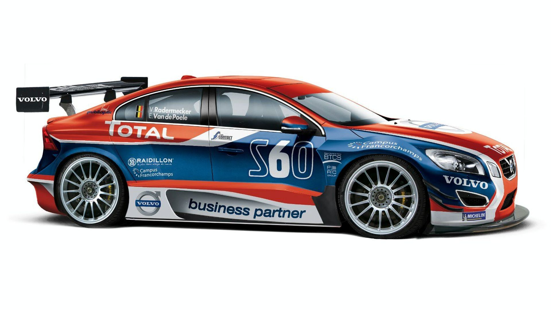 Volvo Preparing All-New S60 for Belgian Touring Car Series