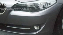 2011 BMW 5-Series Partial Nose Photo Allegedly Leaked