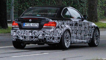BMW 1-Series M spied sporting quad-exhausts