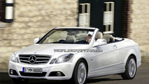 Rendered: Mercedes E-Class Coupe Convertible