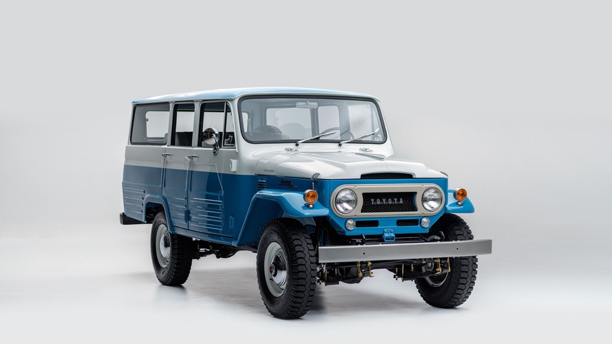 Ultra-rare 1967 Toyota Land Cruiser FJ45LV beautifully restored