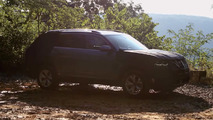 Volkswagen teases midsize SUV dimensions, engine outputs in new video