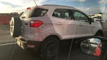 Flagra - Novo Ford EcoSport 2018 se apronta para estreia ainda neste semestre
