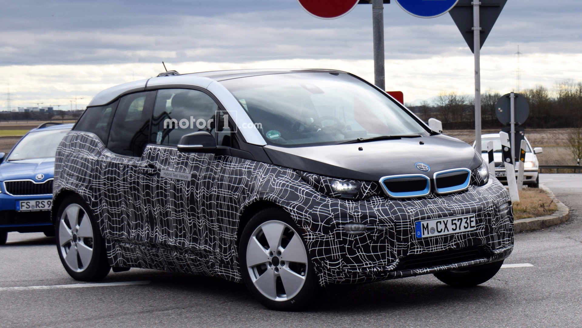 Bmw I3 Facelift Spied With Lowered Suspension Is It The I3s