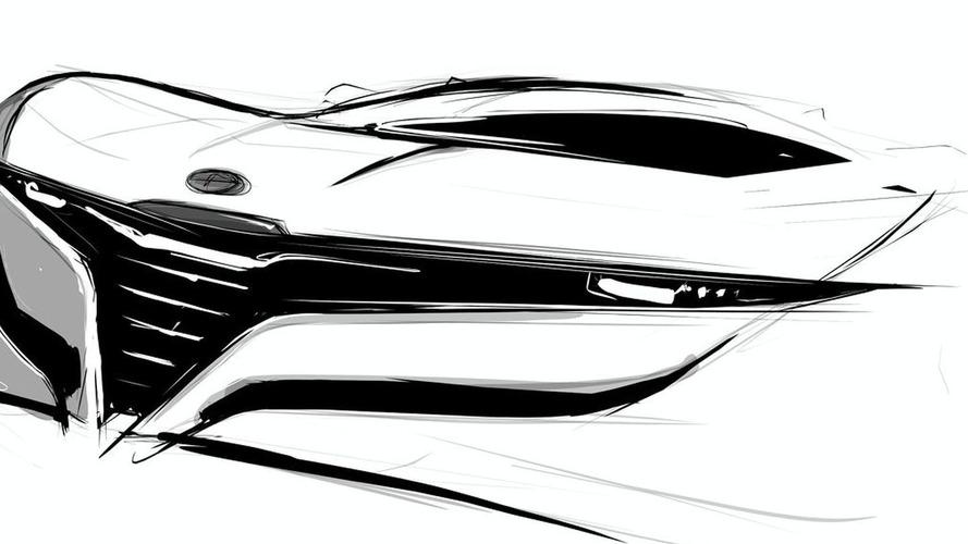 Bertone Alfa Romeo Coupe Concept Geneva Teaser Sketch Released