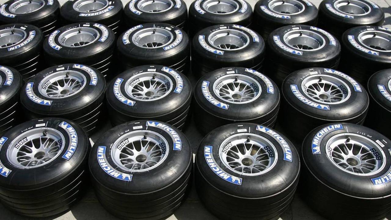 Michelin Dry weather tyres, Bahrain Grand Prix, 09.03.2006 Sakhir, Bahrain