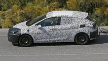 2016 Opel Astra caught testing in the mountains