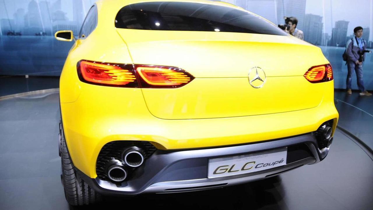 Mercedes-Benz Concept GLC Coupe at Auto Shanghai 2015