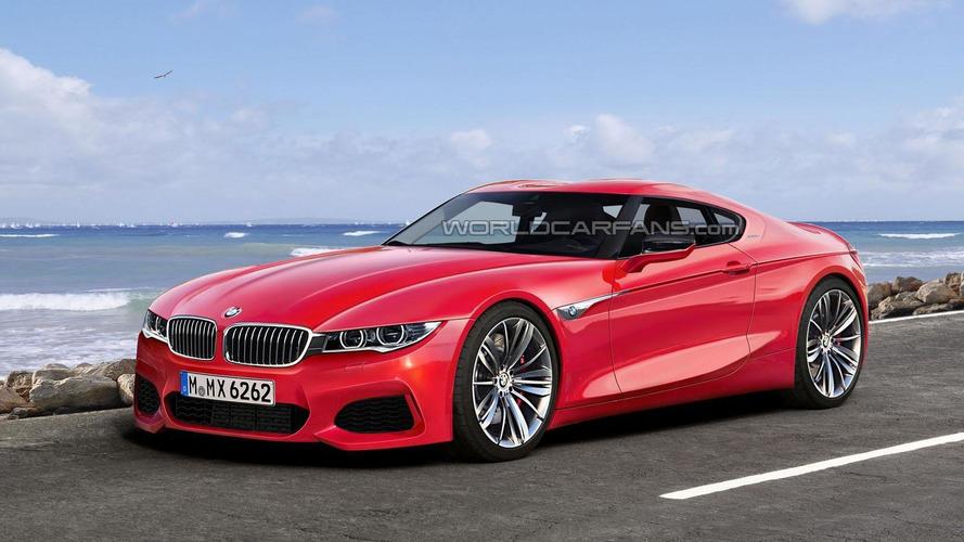 BMW Z5 / BMW Toyota sports car rendering