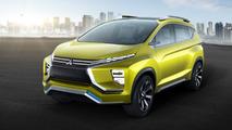 Mitsubishi XM concept combines MPV and SUV genes