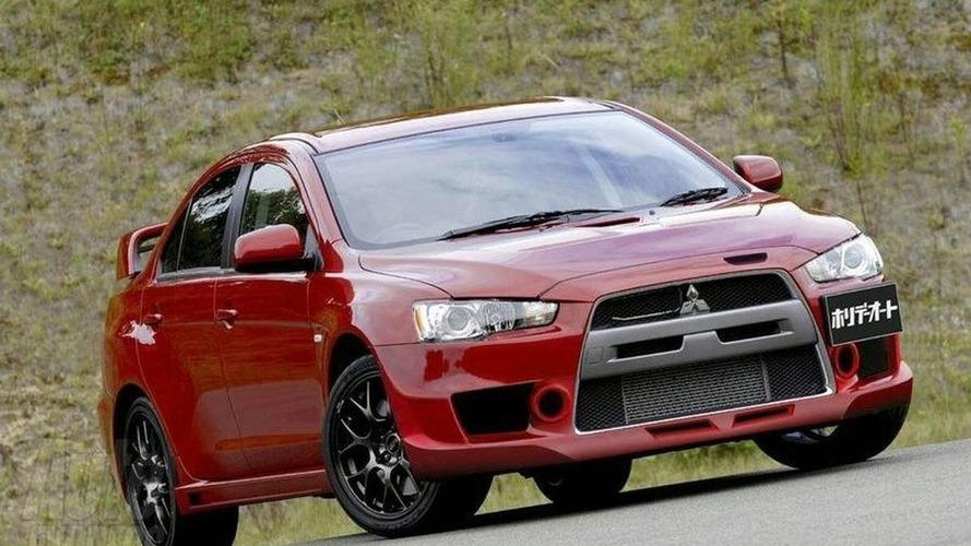 Mitsubishi Lancer Evolution X MR details Emerge