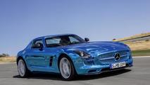 Mercedes-Benz SLS Electric Drive launched in Paris