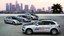 Audi Launches U.S. Diesel Offensive with Mileage Marathon