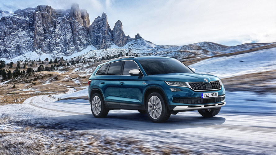 Skoda Kodiaq Scout debuts with rugged looks, standard AWD