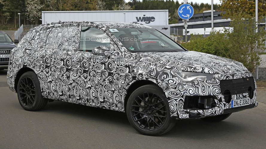 2015 Audi Q7 spied up close in Germany