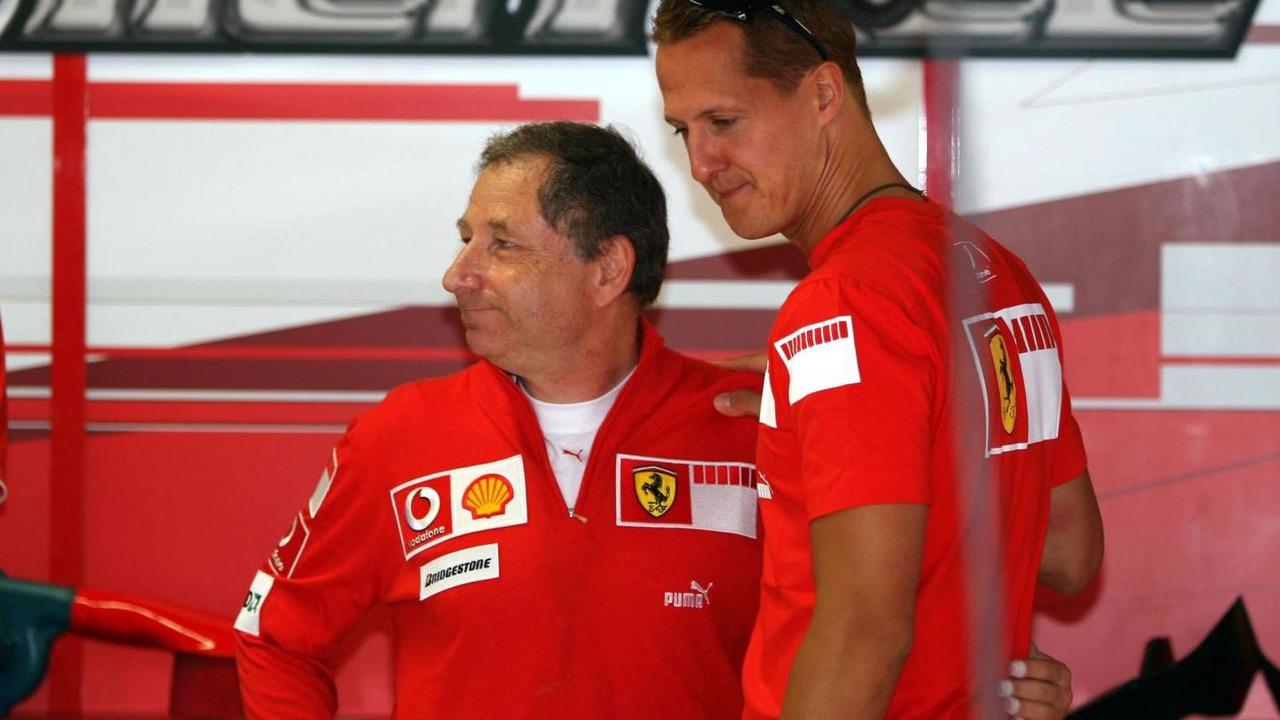 Jean Todt and Michael Schumacher 08.09.2006 Italian Grand Prix
