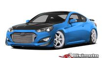 Hyundai & Bisimoto unveil their 1000 bhp Genesis Coupe at SEMA [video]