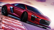 2015 Audi R8 gets rendered