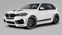 Lumma Design previews their tuning program for the 2014 BMW X5