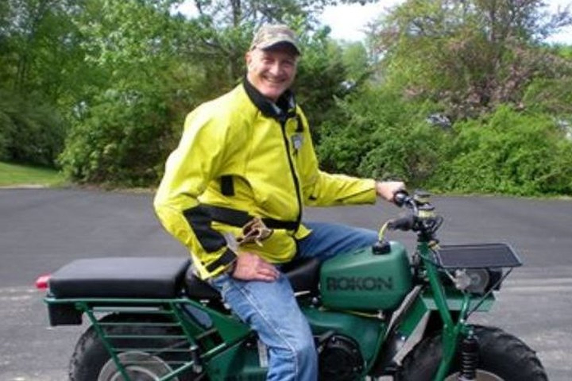 New Hampshire Man Making Cross-Country Trip in 35-MPH ROKON for Charity