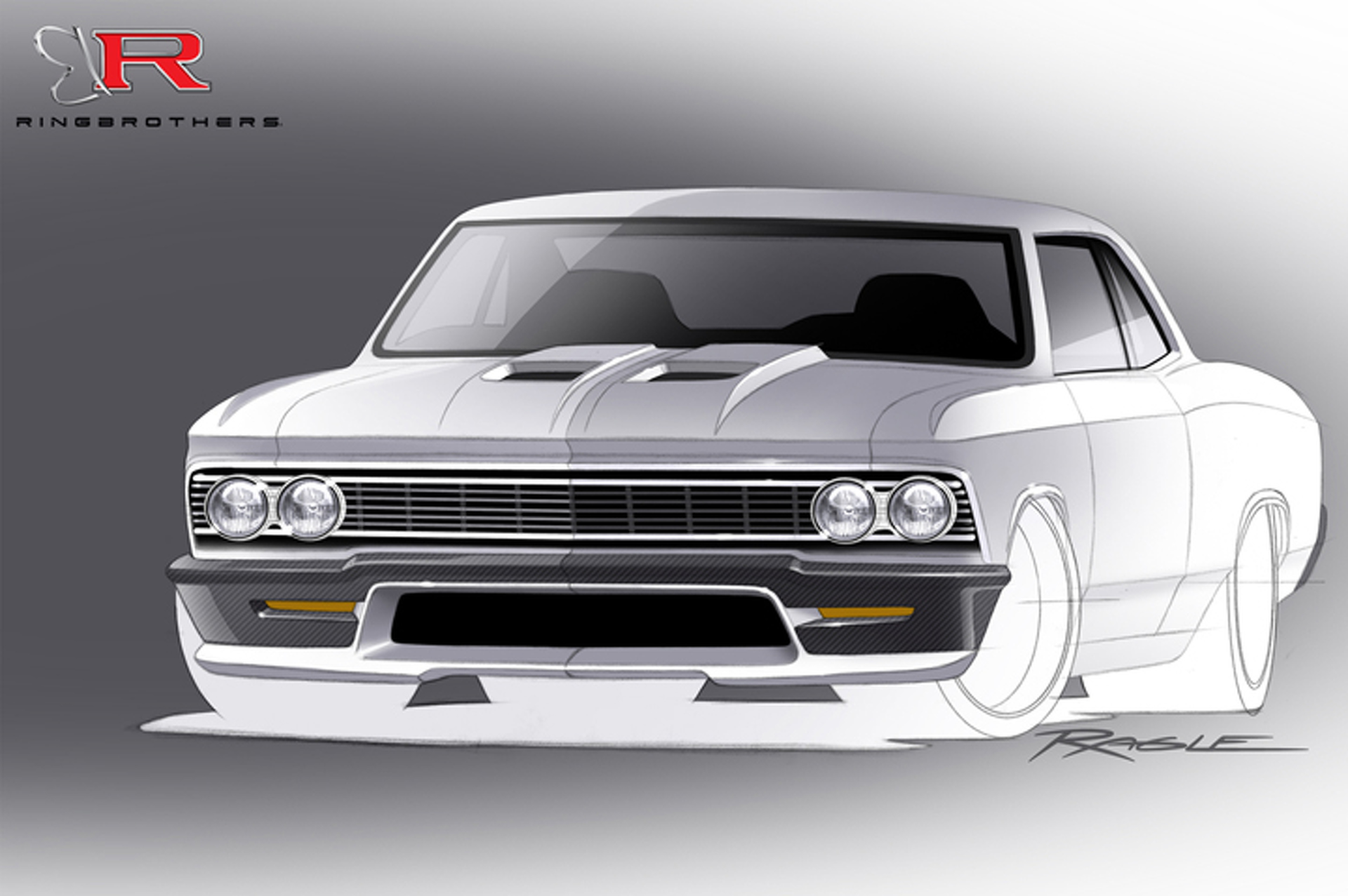 Meet 'Recoil' – A Supercharged '66 Chevrolet Chevelle