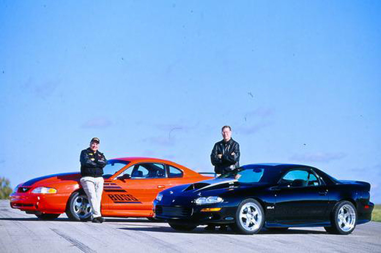 Video Flashback: The 90s Muscle Car Battle You Never Heard Of