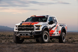 Ford is Taking the F-150 SVT Raptor Racing in the Desert
