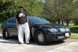 Is Adrian Peterson's Custom BMW 7-Series Pro-Bowl Status?