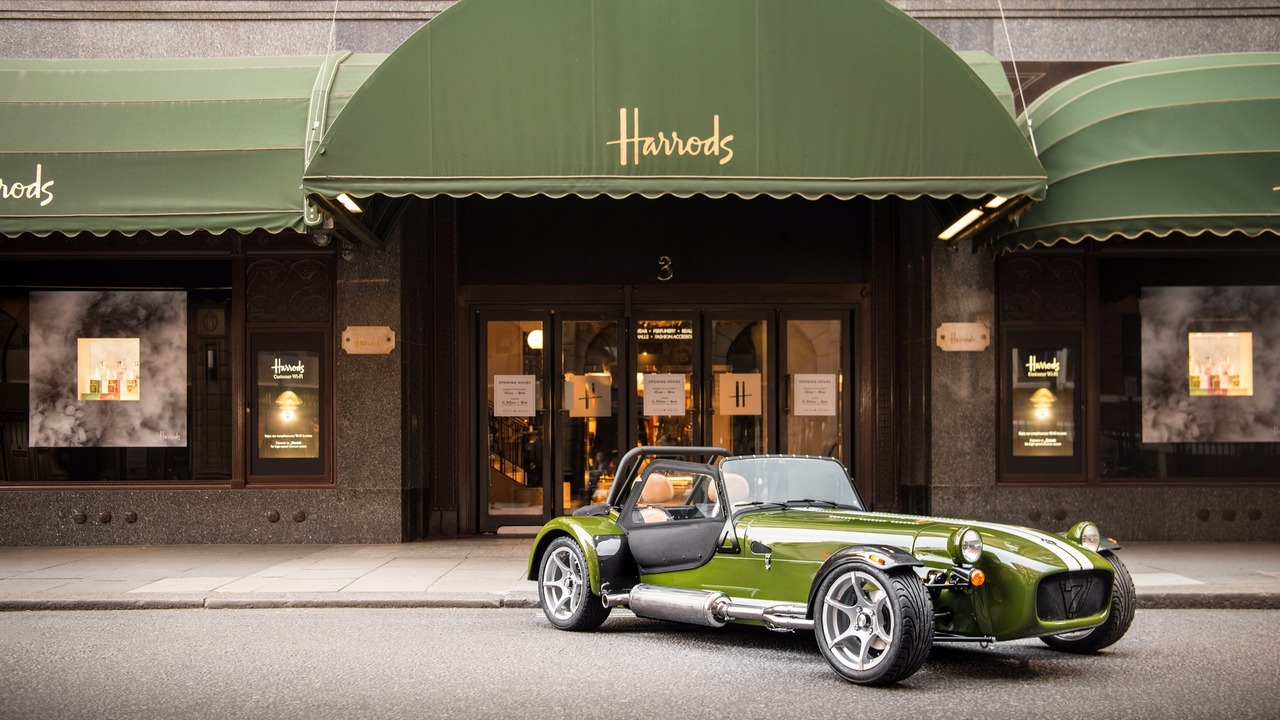 Caterham Seven Harrods Edition