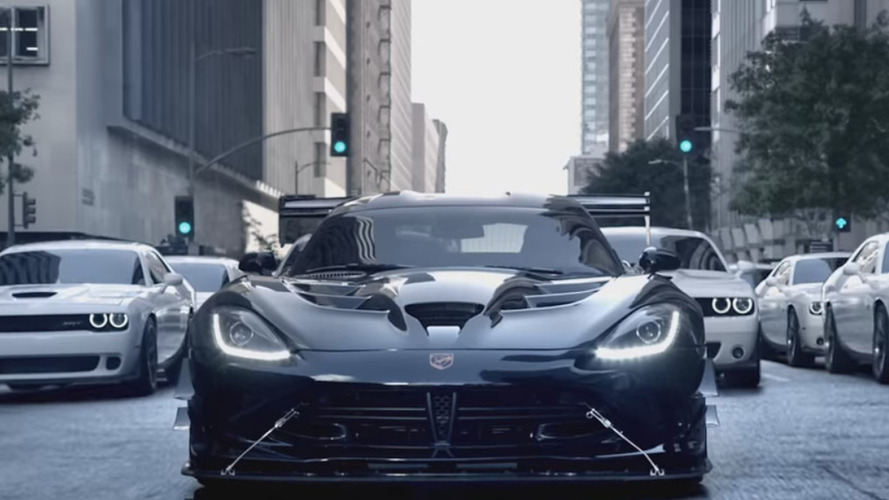Dodge Viper ACR jumps on Star Wars bandwagon in new TV commercial [video]