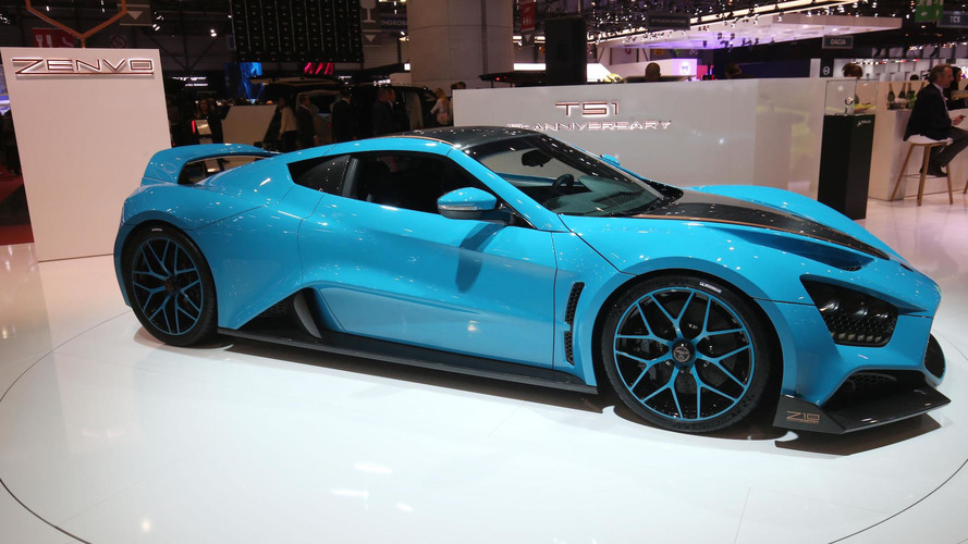Zenvo TS1 GT has 1,163 hp, costs $1.6 million... and is very blue