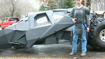 Homemade Batmobile Replica