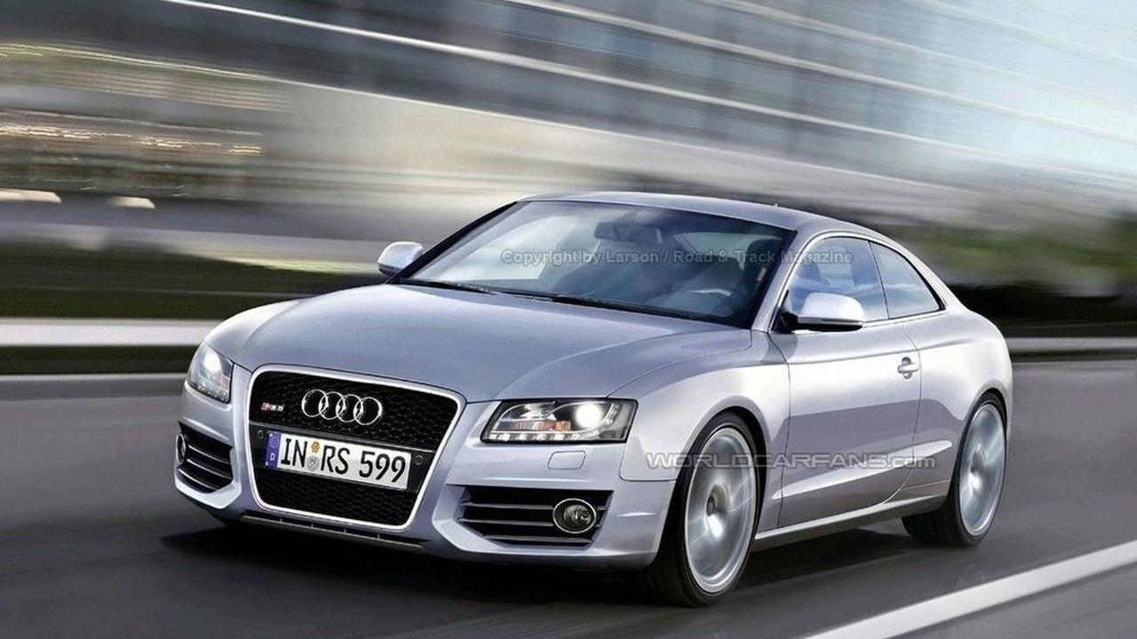Audi RS 5 artists rendering