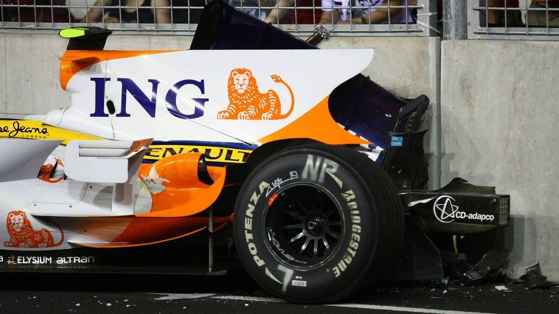 Massa confronted Briatore about Piquet crash