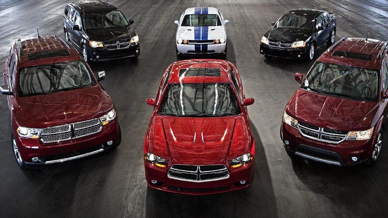 Dodge Grand Caravan R/T, Dodge Charger R/T, Dodge Durango R/T, Dodge Challenger R/T and Dodge Journey R/T 09.02.2011