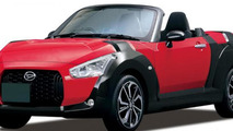 2015 Daihatsu Copen revealed in production guise [video]