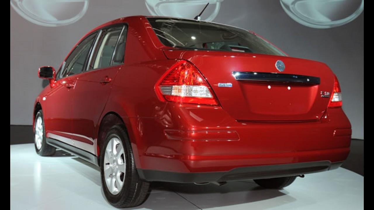 Ex-Dodge Trazo: Nissan confirma lançamento do Tiida Sedan no Brasil no 2° semestre