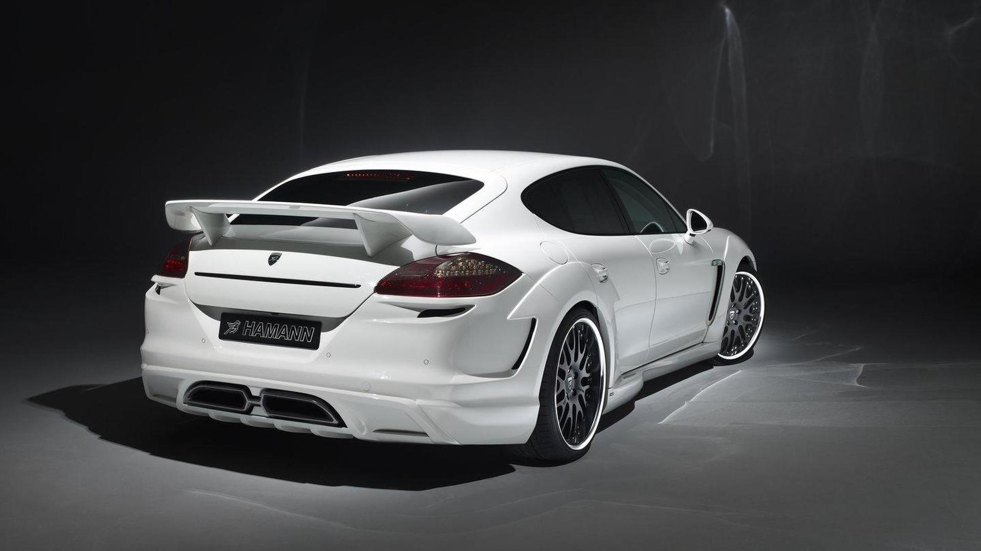 Hamann Cyrano spec'd - based on Porsche Panamera