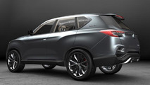 SsangYong LIV-1 Concept goes official