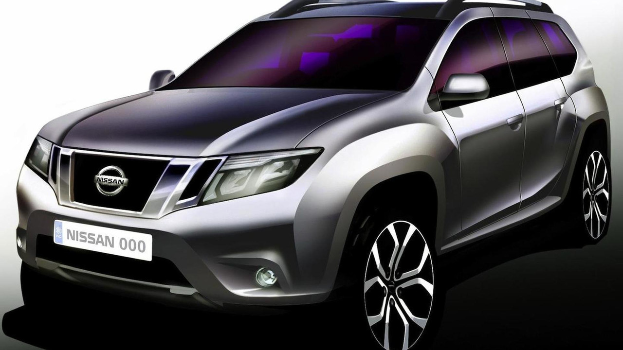 2013 Nissan Terrano official sketch 11.06.2013